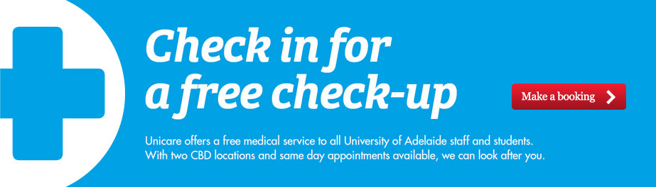 Check in for a Check-Up
