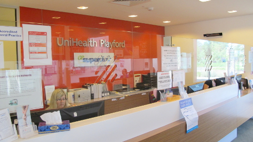 UniHealth Playford Receptionist