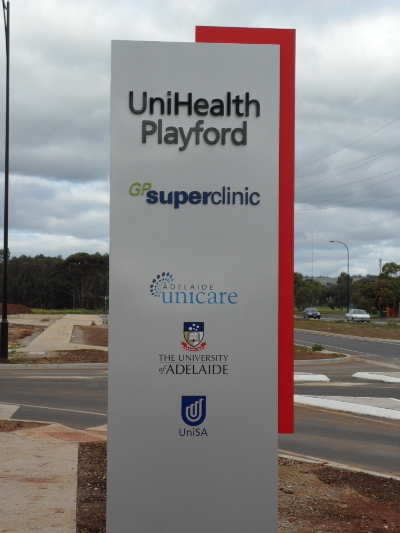 playford north opening sign